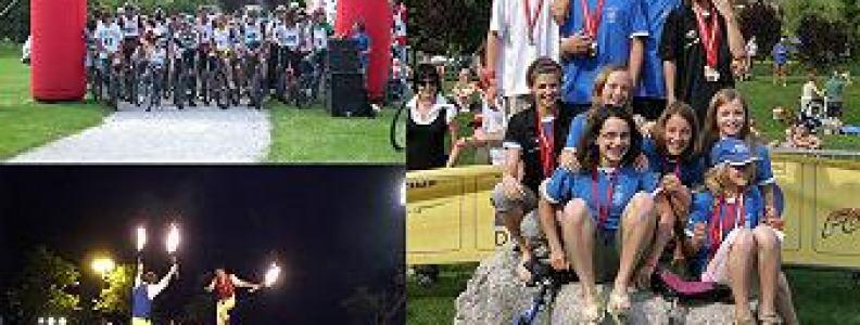 Italienische Einradmeisterschaft Molveno 2009